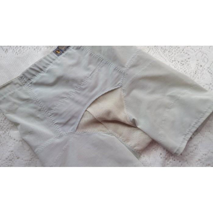 *絕色塑身衣館*9IBI【日本善美得~男~淺綠色調整型束褲】~L號~直購690元~