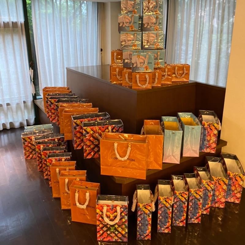 LV 紙袋包  改造紙袋包 防水 #聖誕節 #限量版