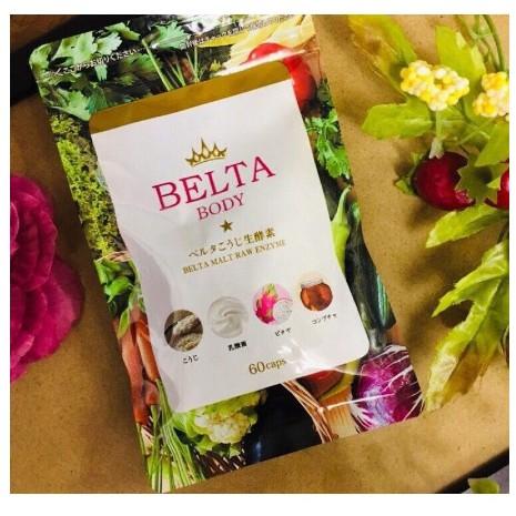 保證公司貨 BELTA纖暢美生酵素60顆/包
