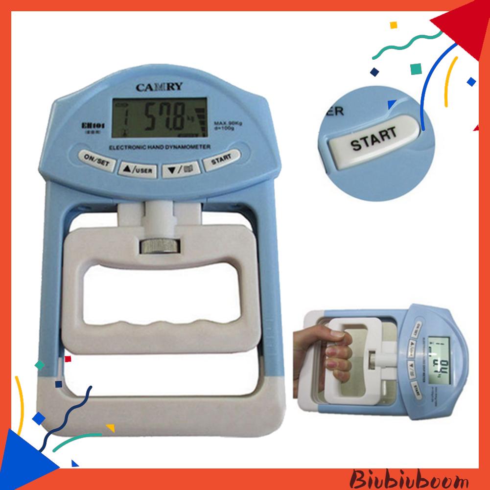 Biu _ 198lb / 90kg 電子數字液晶手握強度血壓計測量儀