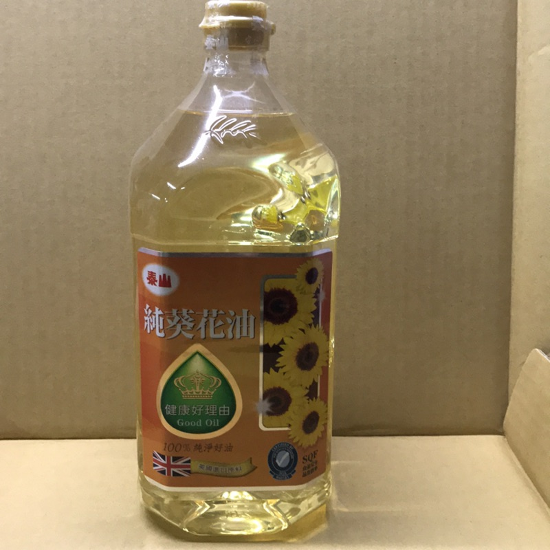 泰山純葵花油(2公升)