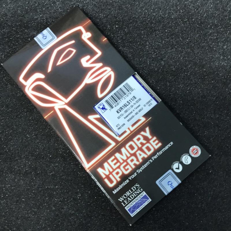 金士頓8GB DDR3 1600 1.35v 筆電記憶體