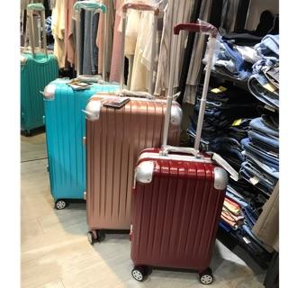 貓哥旅遊商城 出清暑期活動 LETTI 新款 SGS耐摔檢測合格 拉絲 鋁框 行李箱 玫瑰金 20吋 26吋 29吋 新北市