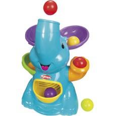 Playskool 大耳象彈跳玩球遊戲組 大象發球機