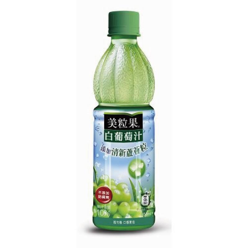 美粒果 白葡萄果汁飲料(4入) 450ml 玩具反斗城