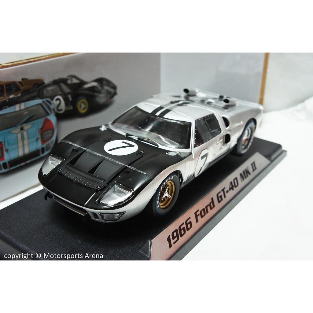 【現貨特價】1:18 Shelby Ford GT40 MK2 No.7 24h LeMans 1966 利曼大賽