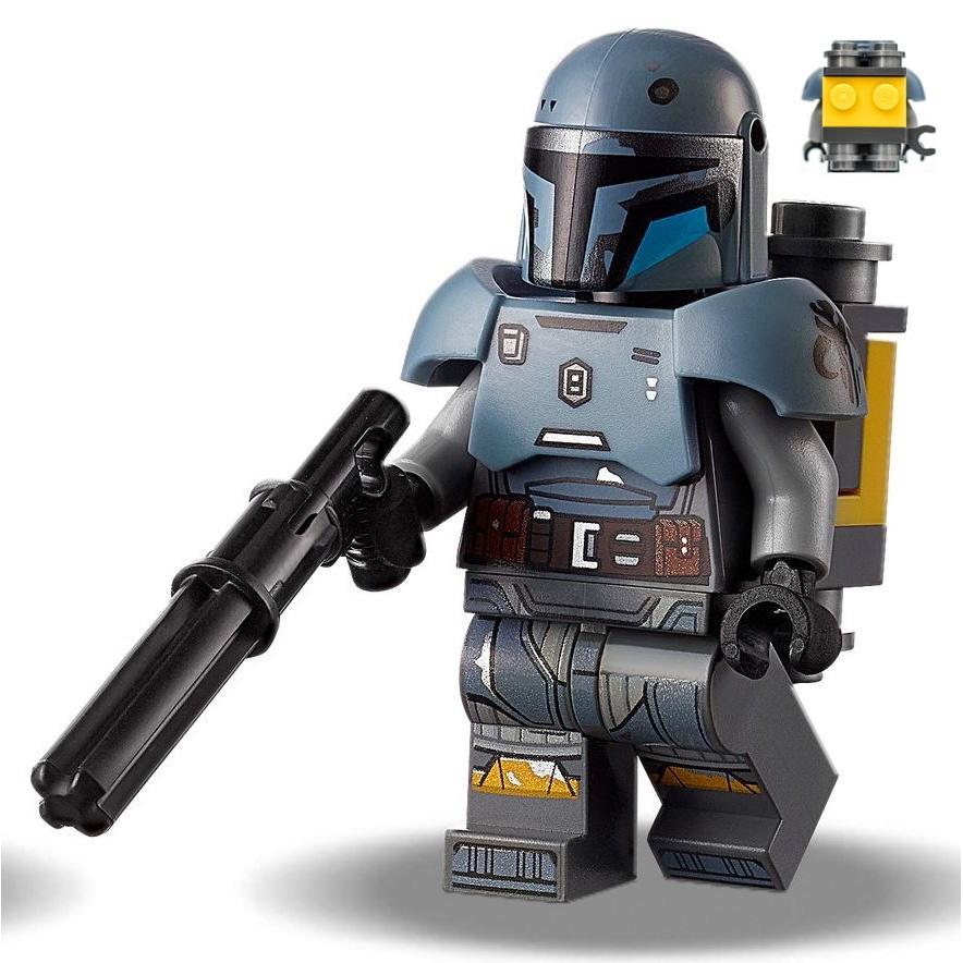 LEGO 75319 拆售 人偶 Paz Vizsla (商品如圖片)