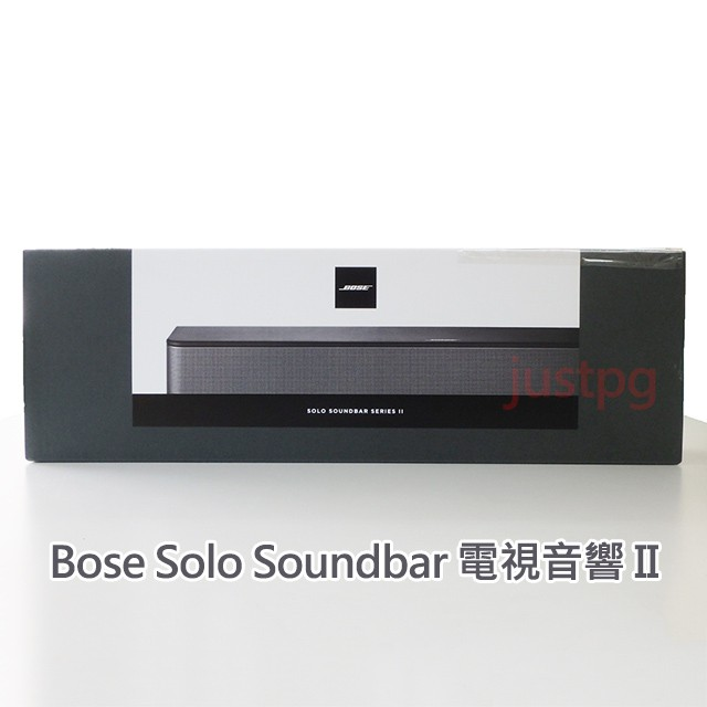 【Bose】Solo Soundbar 電視音響 II 黑色 好市多 Costco 現貨 藍芽 845194-5100