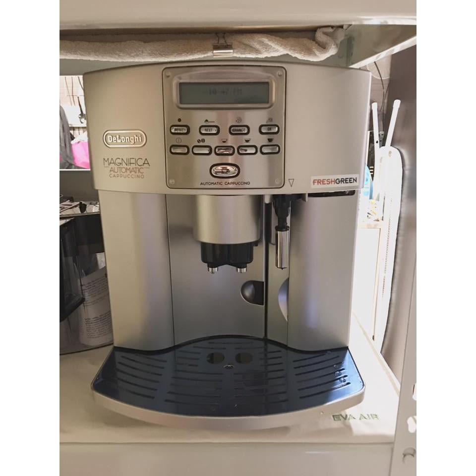 【可刷卡分期】 (自取再折兩千優惠) 二手DeLonghi迪朗奇全自動咖啡機ESAM3500