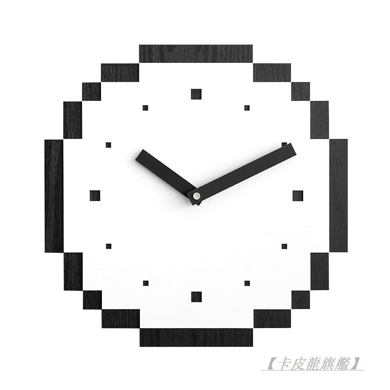 【卡皮龍旗艦】mandelda家用鐘飾創意個性藝術掛鐘客廳簡約時鐘掛墻極簡輕奢鐘表