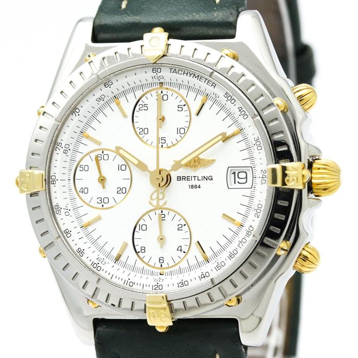 Breitling 百年靈 18K金 男錶 自動機械 B13050.1 二手錶 瑞士 原裝正品