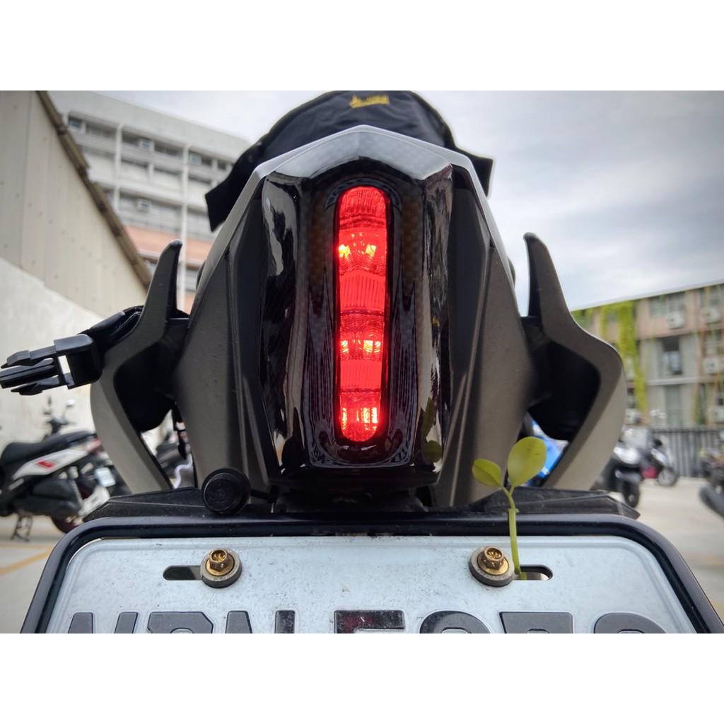 Moto橘皮 R15 尾燈 尾殼 尾燈殼 R6造型 尾燈蓋 碳纖維 MT15 R3 CBR650R CBR500R