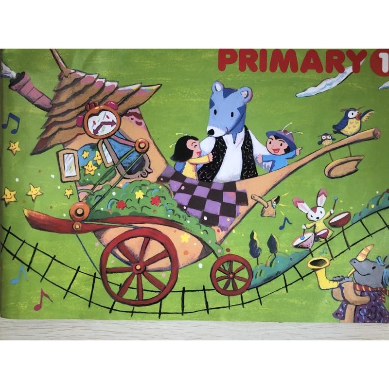 Yamaha 功學社 音樂教室 primary 幼兒系列 幼幼班 課本 練習本 CD DVD