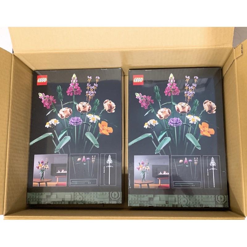 現貨最後1盒/ 官方正品 10280 LEGO樂高花藝系列花束積木