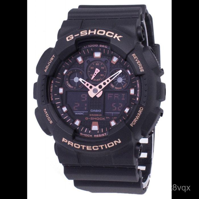 代購Casio卡西歐G-Shock石英男款手錶GA-100GBX-1A4 vRq2