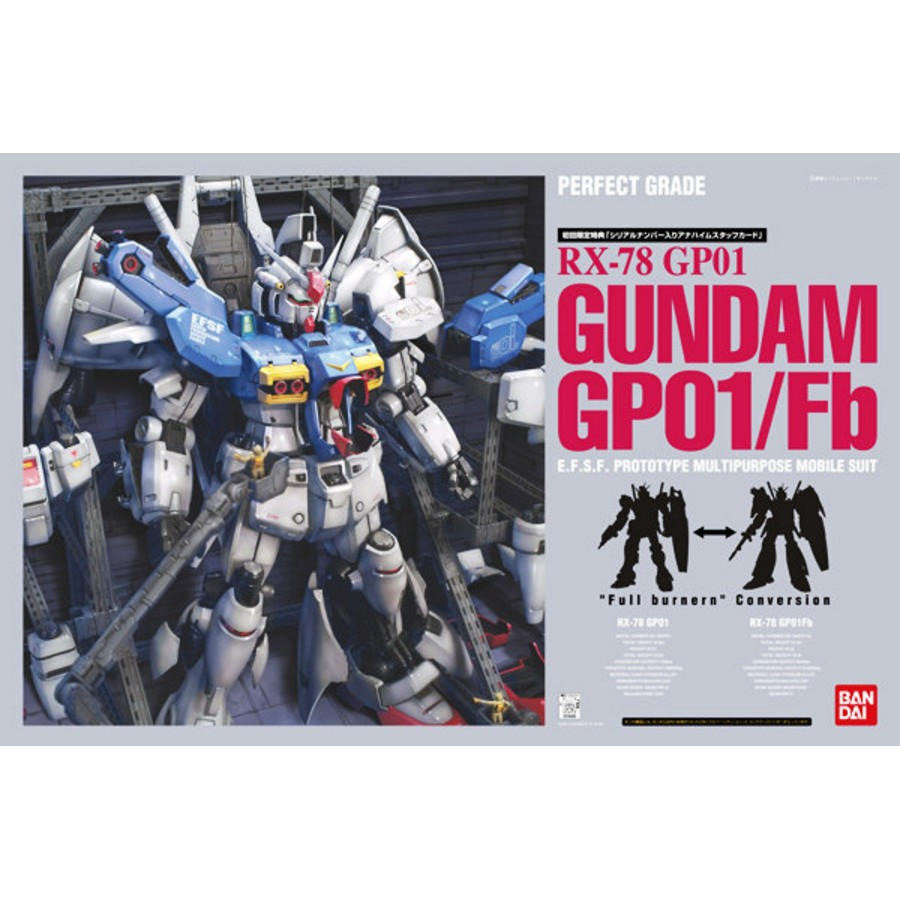 【鋼普拉】現貨 BANDAI PG 1/60 RX-78 GP-01 GUNDAM GP01/FB 鋼彈試作1號機