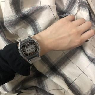 【大賴】手錶 運動手錶 電子手錶 電子錶 casio手表卡西毆手表 情侶錶  潮流韓版簡約男女學生運動小方塊表ins風多