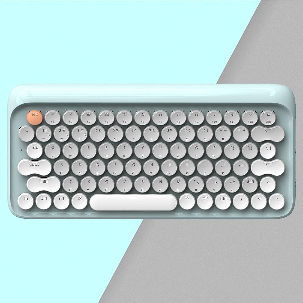 LOFREE 打字機鍵盤 全球限定注音版 (夏 / 青)<現貨><免運>
