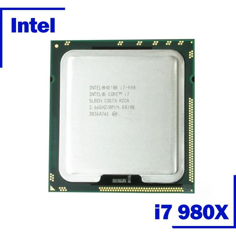 四核智能i7-975 i7-980X i7-990x CPU台式機處理器i7 950 8M高速緩存2.8 GHz 4.8