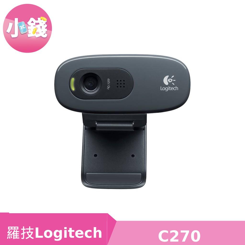 羅技 C270 HD 網路攝影機 WebCAM 視訊 攝像頭 IP CAM 即插即用【小錢3C】