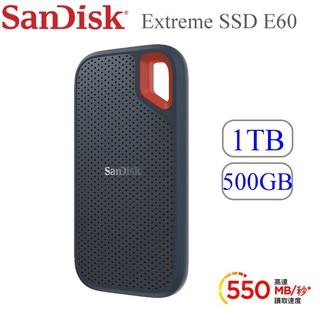 SANDISK EXTREME® SSD E60 行動固態硬碟500G / 1TB Type-C/ USB3.1外接式 桃園市