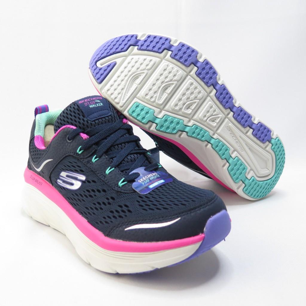 Skechers D LUX WALKER INFINITE 健走鞋 149023NVMT女款 藍【iSport愛運動】