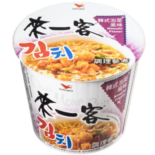 統一來一客韓式泡菜風味 67g3入80元