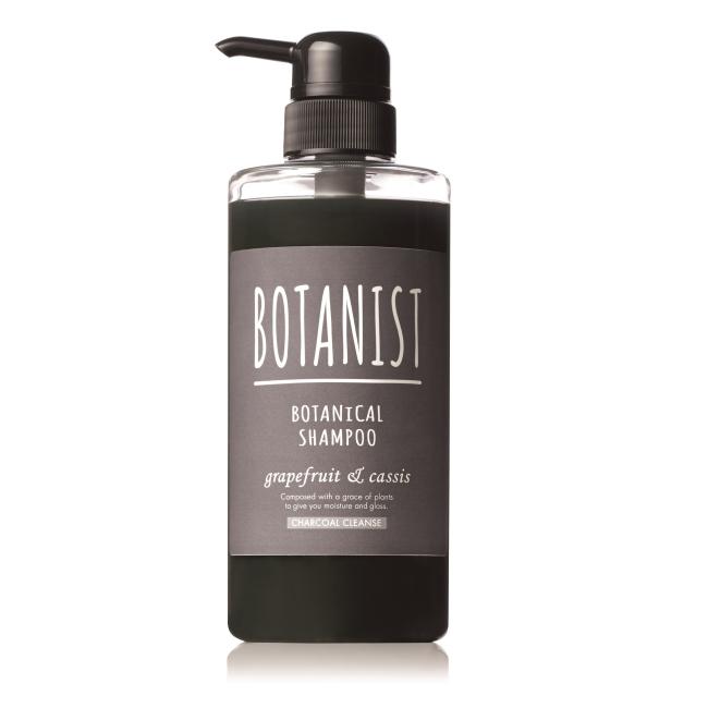 BOTANIST 植物性洗髮精490ml黑炭潔淨型