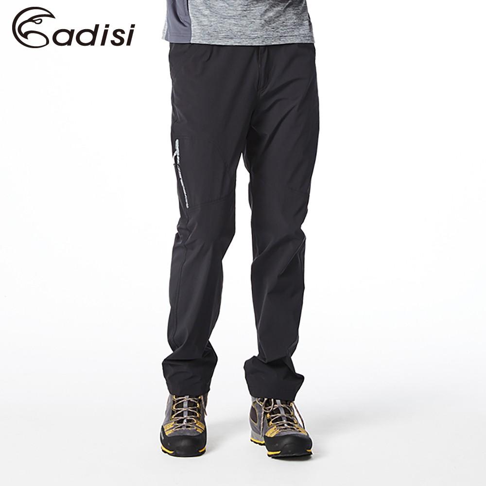 ADISI AP1811020男四面彈性休閒長褲/黑色