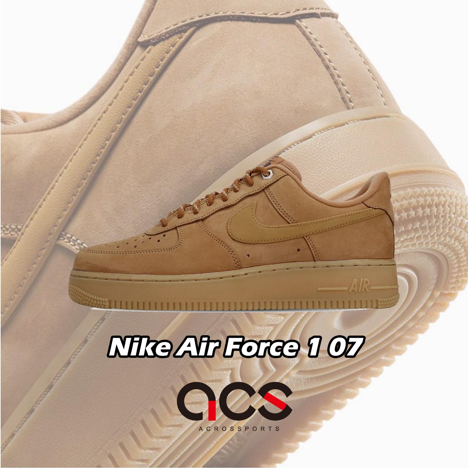 Nike 休閒鞋 Air Force 1 07 WB Wheat 小麥 男鞋 Flax【ACS】 CJ9179-200