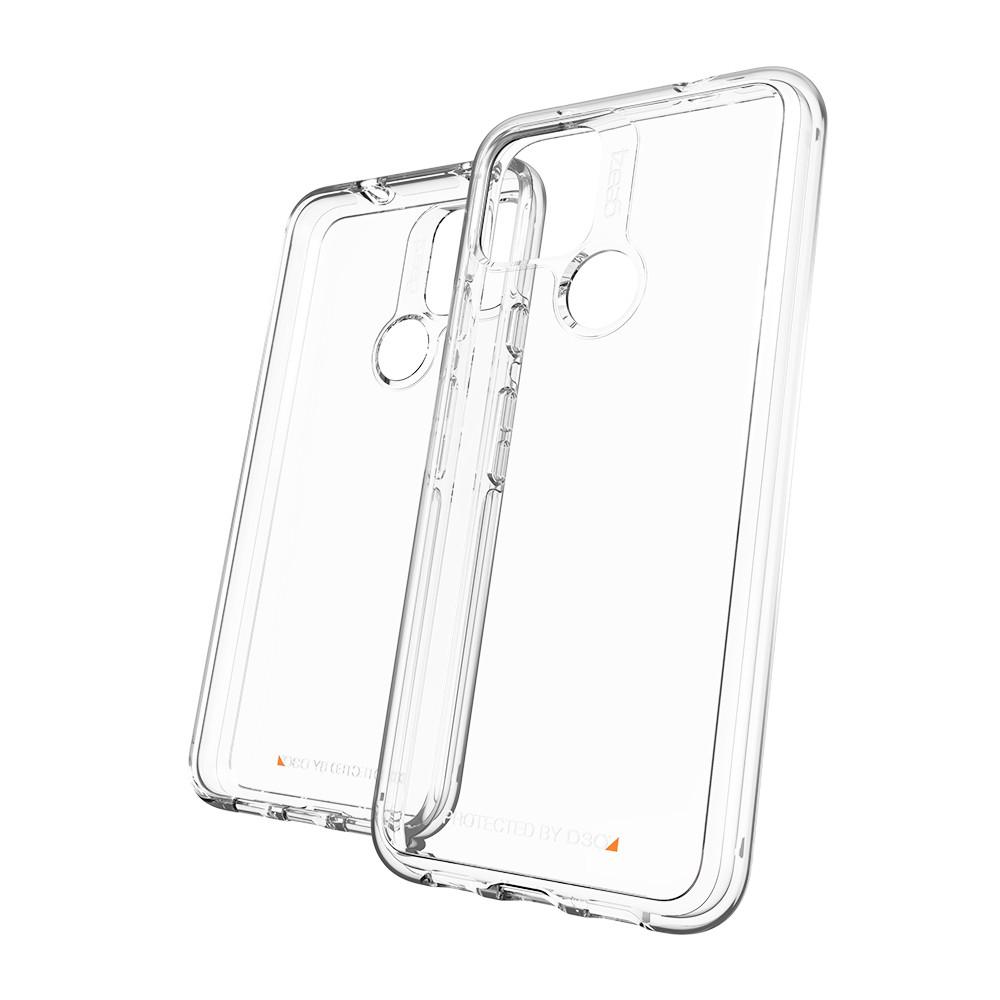 【免運費】Gear4【Google Pixel 5】D3O® 水晶透明-抗菌軍規防摔保護殼