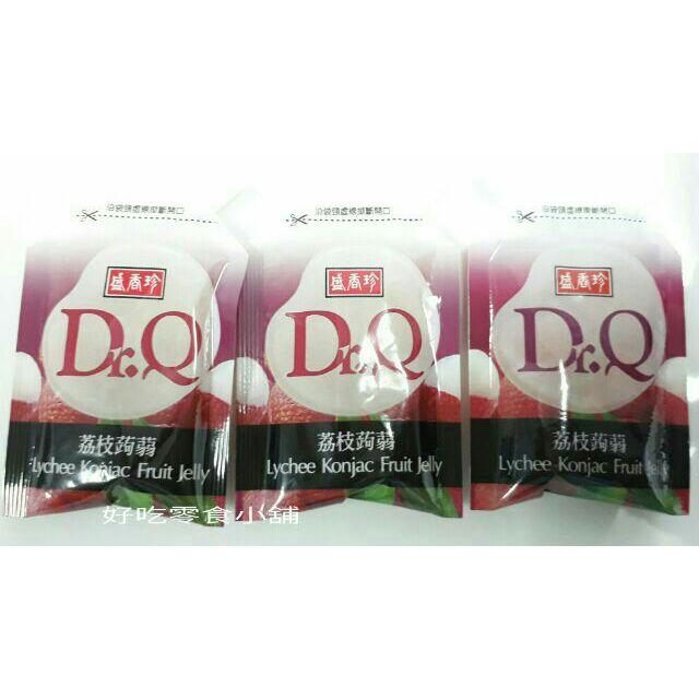 😘好吃零食小舖~盛香珍Dr.Q 荔枝蒟蒻果凍500g $79,1000g $150, 量販盒6kg $780