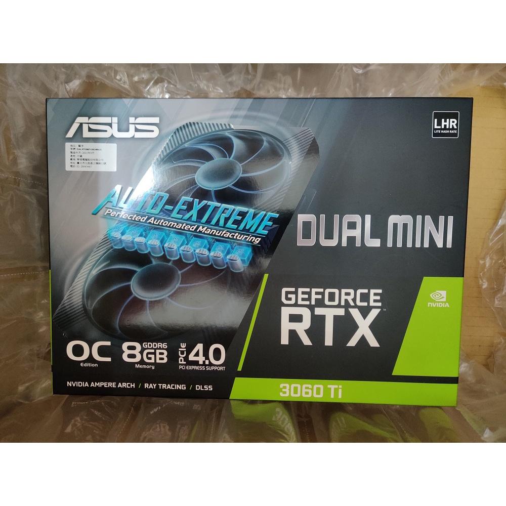 ASUS Dual RTX 3060Ti O8G MINI V2