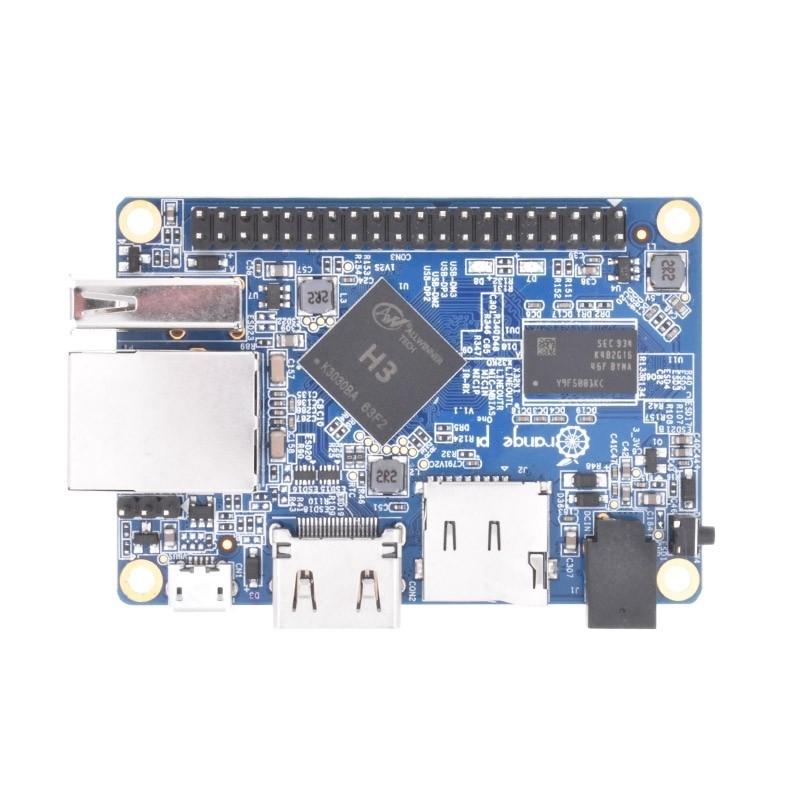 橙色 Pi One 512mb H3 四核, 支持 Android, Ubuntu, Debian Mini Singe