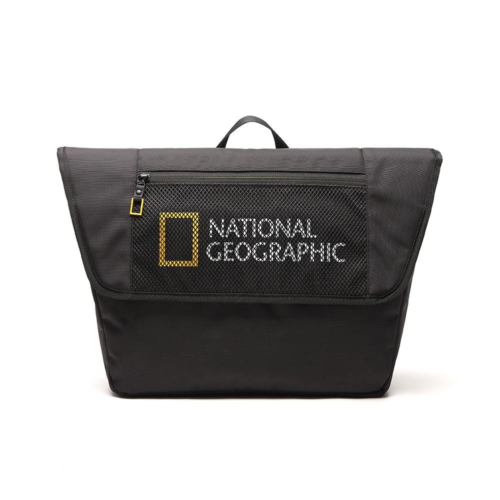 NATIONAL GEOGRAPHIC Big LOGO 男女 斜背包 黑 N211ACR010099【GO WILD】