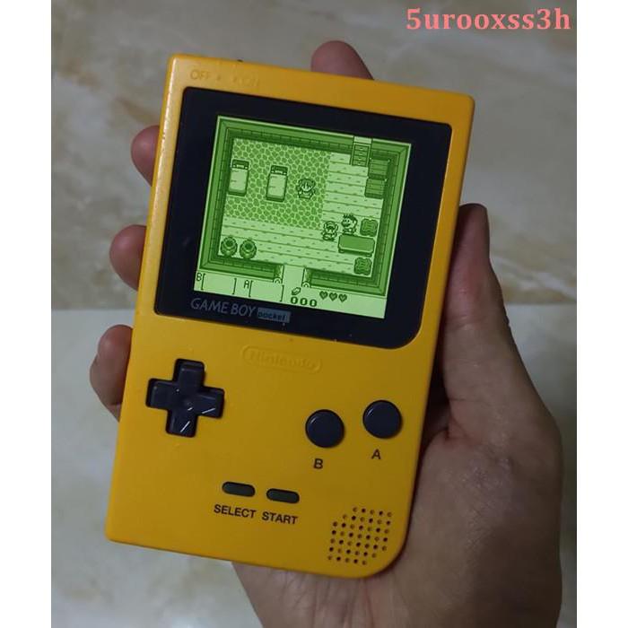 任天堂GBP高亮掌機gameboy pocket高亮IPS屏可36色背景色切換