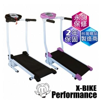 【 X-BIKE 晨昌】迷你跑步機/電動跑步機/小台跑步機 台灣精品 40200[ 免運]