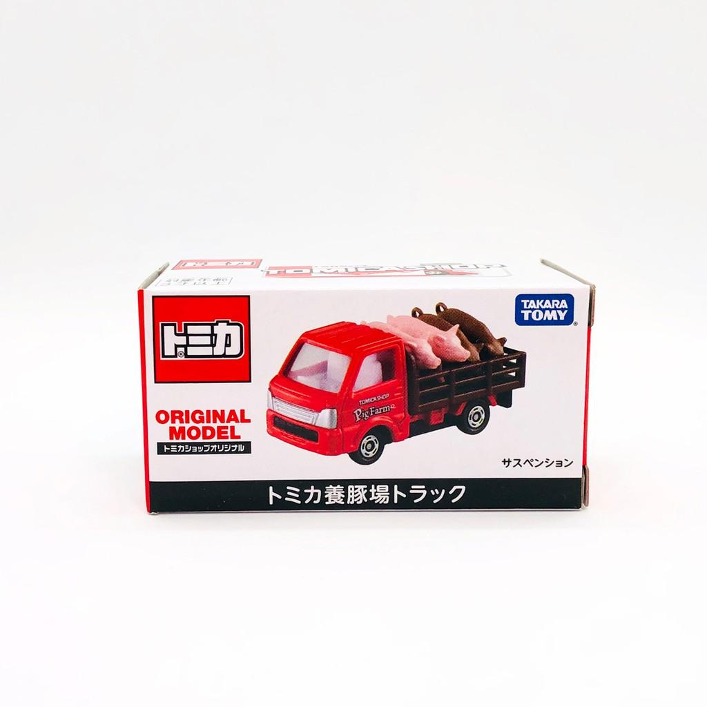 【現貨】日版 TOMICA SHOP 專賣店限定 載豬車 家畜搬運車 全新