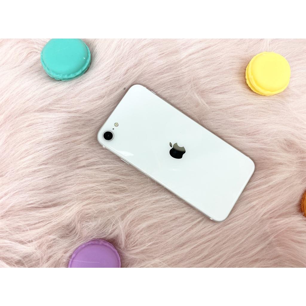 💜優惠一波💜二手🍎🍎蘋果iPhone SE2 128G 白色 電池88% 無傷手機📱