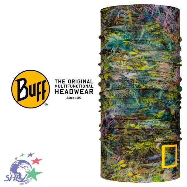 BUFF 西班牙魔術頭巾 / Coolnet 抗UV頭巾 / 綠色秘林 / BF125353-845【詮國】