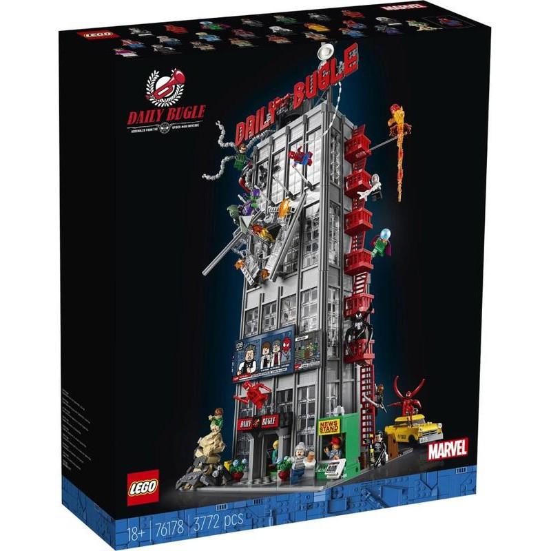 現貨可刷卡 LEGO 樂高 76178 【樂高熊】 MARVEL 蜘蛛人 號角日報 全新未拆 保證正版台樂貨