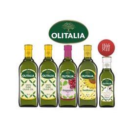 5068296MOMO代購-  【Olitalia 奧利塔】純橄欖油+葡萄籽油+葵花油禮盒組1000mlx4瓶(+特級初