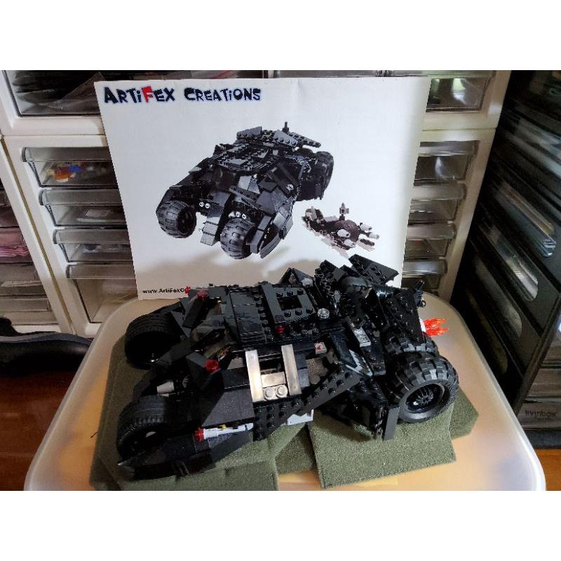 已組裝 展示品 LEGO 樂高 國外玩家 moc batman tumbler 非76023 7888