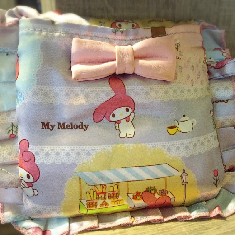 ROOTOTE 可愛美樂蒂迷你折疊購物袋-可折