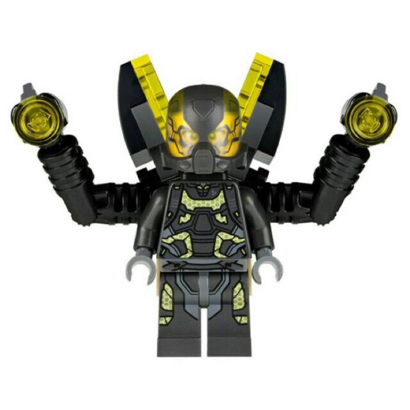 LEGO 76039 超級英雄 蟻人 人仔 黃蜂人