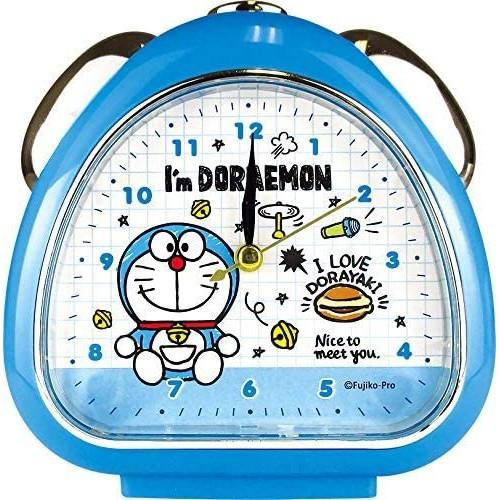 🎀愛莉詩🎀 🇯🇵新貨入荷☆日本最新推出~哆啦A夢手繪塗鴉圖案三角造型LED夜光鬧鐘