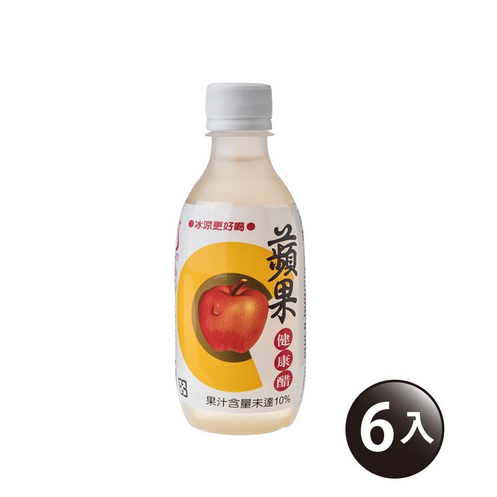 【百家珍】蘋果即飲醋280mL-6入組