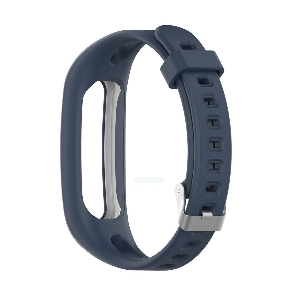 免運 錶帶 ✹℡✗適用于華為榮耀4 running版 /手環band 3E硅膠表帶 防丟替換腕帶
