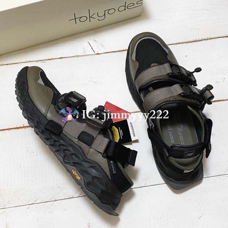 三方聯名 SNOW PEAK NEW BALANCE TDS Niobium Concept 2 涼鞋 拖鞋 登山 露營