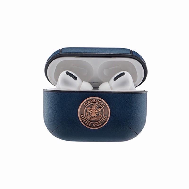 《現貨》全新正品Starbucks星巴克藍銅章女神AirPods-Pro保護套